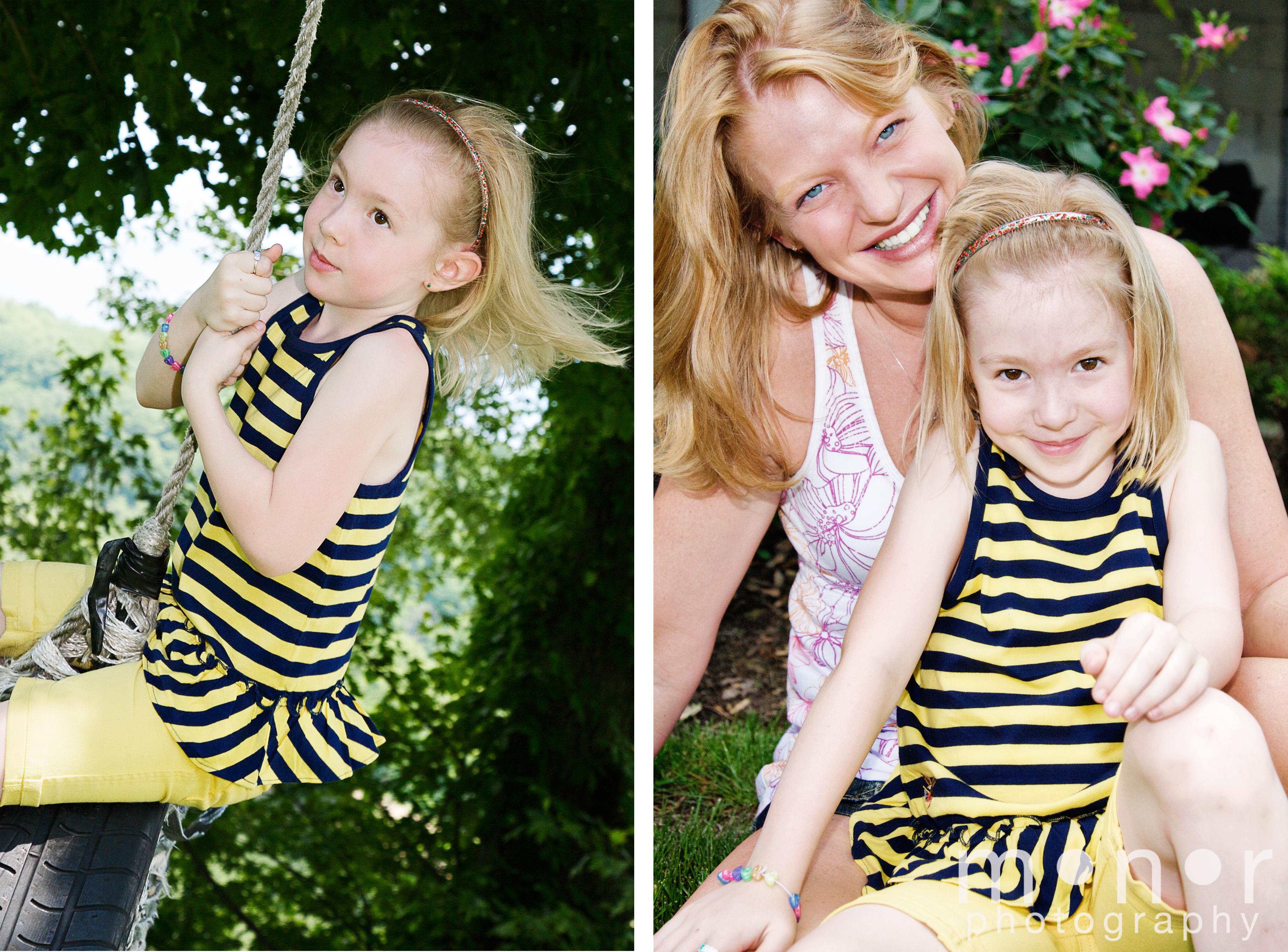 haleigh and mom